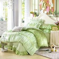 super king duvet cover cotton mint green ruffles bedding super king duvet cover for princess super king duvet cover