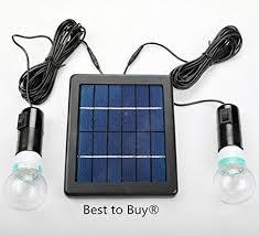 Best To Buy 5W Solar Panel DIY Lighting Kit Solar Home System Kit Solar Powered Lighting Kits