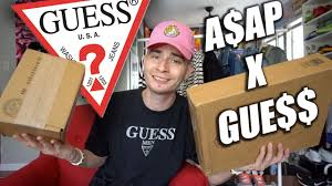 ASAP ROCKY X GUESS UNBOXING HUGE HAUL YouTube