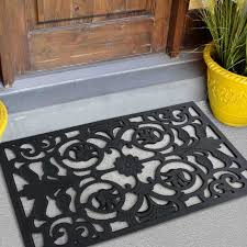 accessories indoor doormat fascinating black door mat indoor outdoor mat rug rubber utility muds dirts
