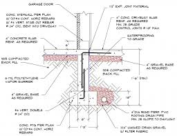 basement foundation design. Garage Foundation Design Plans Free Basement
