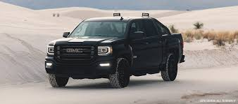 exterior of the 2018 gmc sierra all terrain x pickup truck