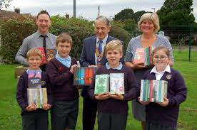 Christchurch Rotary buy books for St Joseph's Catholic Primary School -  Rotary Club of Christchurch