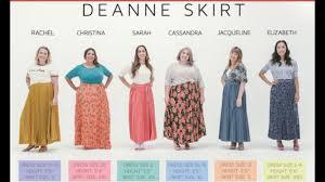 Deanne Skirt Size Chart Enchanting Wear Size 8 What Lularoe What Size Do I Wear In