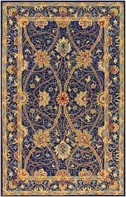 stylist ideas blue and gold rug safavieh heritage oriental hg958a 1218