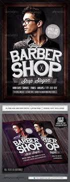 barber flyer barbershop flyer template by industrykidz graphicriver