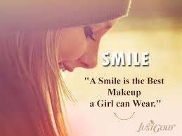 Quote For Girls Beauty Best of A Smile Is The Best Makeup A Girl Can Wear Beauty Quotes Girl