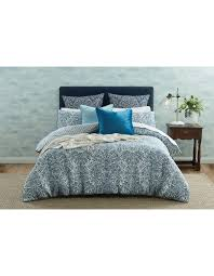 oliviero single quilt cover light blue