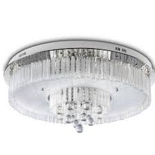 round crystal chandelier