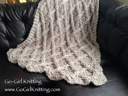 Chunky Knit Blanket Pattern Extraordinary How To Make A Chunky Knit Throw New House Designs