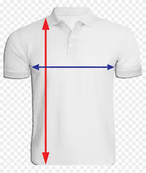 Polo T Shirt Size Chart Collar T Shirt Size Chart Polo Shirt Hd Png Download