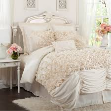 ivory king comforter set lucia 4 piece by triangle home fashions 5