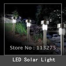 Gama Sonic Premier SolarPowered Black LED Garden Stake Light 2 Solar Landscape Lighting Stakes