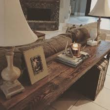 sofa table decor. Decorating Sofa Table Behind Couch 94 With Decor