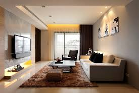 Modern Decor Living Room Nice Cream Nuance Of The Interior Living Room Design Ideas Modern