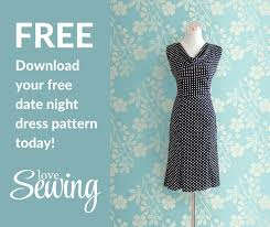 Dress Patterns Free Delectable Free Date Night Dress Pattern