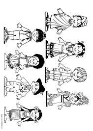 Disegno Da Colorare Bambini Del Mondo Cat 9281 Images