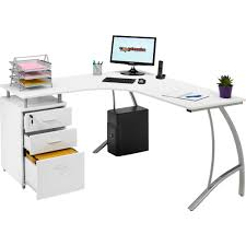 large corner desk home office. Valuable Corner Desk With Drawers For Modern Office Furniture. Nu Decoration Inspiring Home Interior Ideas Large I
