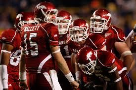 Arkansas Razorbacks Football Serious About Game With