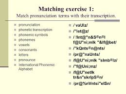 It was devised by the international phonetic association in the late 19th. Transcription Exercises 3 O S Z D T N W N U I Ppt Download