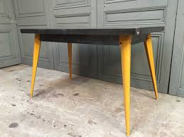 xavier pauchard french industrial dining room furniture. french t55 table with yellow feet by xavier pauchard for tolix 1950s industrial dining room furniture l