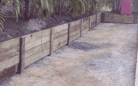 Small Picture Retaining Walls Sleepers Link Blocks Landscapers North Brisbane