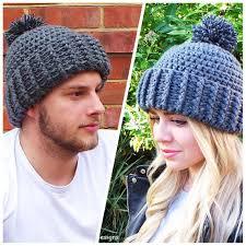 Mens Crochet Beanie Pattern Amazing Hard Rock Crochet Hat Pattern Unisex Crochet Hat Pattern Mens Etsy