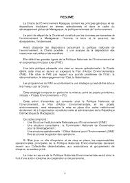 Charte De Lenvironnement