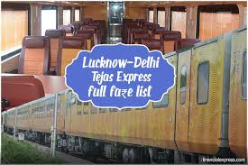 Irctc Ticket Fare Chart Tejas Express Lucknow To Delhi Fare Price Ticket Cost