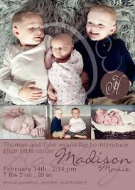Sibling Birth Announcement Birth Announcement Holiday Card Best Gift Ever So Cute Photos