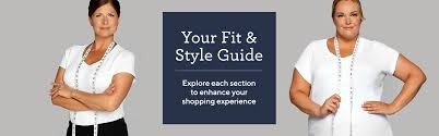 Sizing And Fit Fashion Qvc Com
