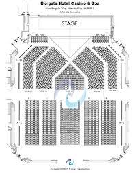 Borgata Venue Seating Chart American Styles Celebrity Borgata Seating Chart