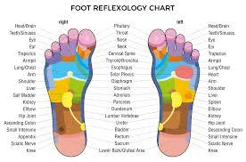Foot Illness Chart Reflexology Amy Kurtz