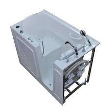 right drain quick fill walk in air bath tub with