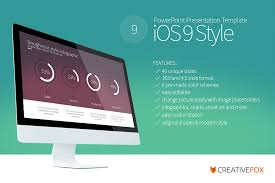 Ppt Style Ios 9 Style Powerpoint Template On Behance