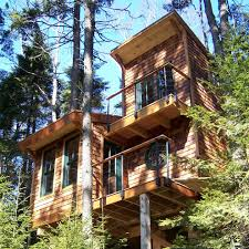 Cool Treehouses For Kids Cool Kids Pallet Tree House Best House Design Pallet Tree House