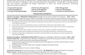 Project Management Resume New Grad Nursing Resume Certified