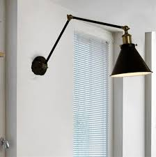 swing arm wall lamp canada design ideas