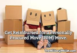 get reimbursed for a personally procured move ppm