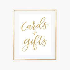cards gifts gold