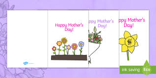 Mothers Day Card Template Design Mothers Day Card Mothers Day