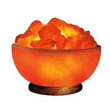 himalayan salt lamp prosperity bowl with salt rock crystals himalayan salt lamp