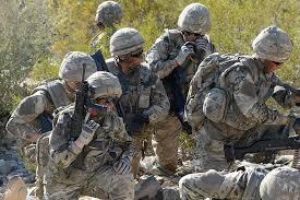 royal marines mandos on exercise