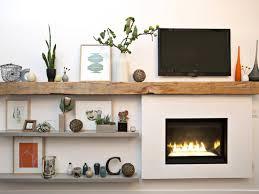 contemporary fireplace mantel decor ideas