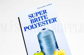 Robison Anton Printed Polyester Color Chart