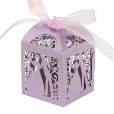 <b>New</b> 50pcs Bride and <b>Groom Wedding Party</b> Cake Favour Sweet ...