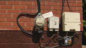 Duquesne Light Smart Meter Problems Man Chains Electric Meter To Prevent Utility From Installing Smart Meter