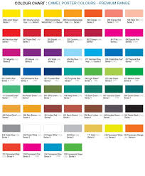 Color Shade Chart 12 Shade Poster Colours Premium Poster Colours Kokucamlin