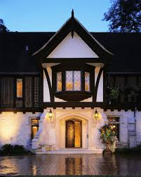 interesting english cottage exterior rustic with wood panel front doors with farmhouse outdoor lighting ideas