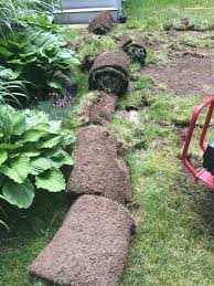 Diy Sod How To Diy A Fire Pit Pea Stone Patio Start To Finish Shine